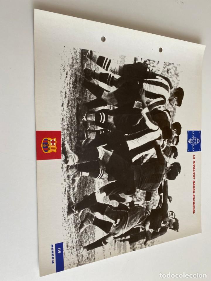LAMINA DE FUTBOL CLUB BARCELONA EL GRAN ALBUM DEL BARCA LA VANGUARDIA Nº119 LA RIVALITAT BARCA-ESPAN (Coleccionismo Deportivo - Postales de Deportes - Fútbol)