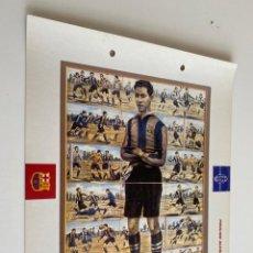 Coleccionismo deportivo: LAMINA DE FUTBOL CLUB BARCELONA EL GRAN ALBUM DEL BARCA LA VANGUARDIA Nº120 PAULINO ALCANTARA. Lote 211796266