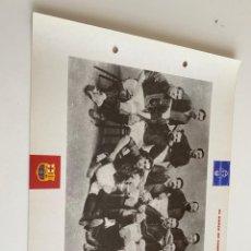 Coleccionismo deportivo: LAMINA DE FUTBOL CLUB BARCELONA EL GRAN ALBUM DEL BARCA LA VANGUARDIA Nº121 EL BARCA DE GAMPER. Lote 211796327