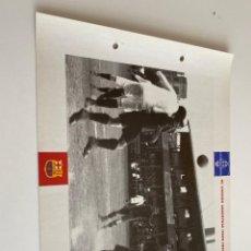 Coleccionismo deportivo: LAMINA DE FUTBOL CLUB BARCELONA EL GRAN ALBUM DEL BARCA LA VANGUARDIA Nº123 EL CARRER INDUSTRIA. Lote 211796436