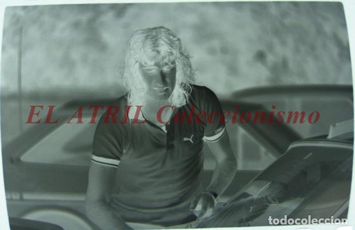 Coleccionismo deportivo: VALENCIA C.F., FUTBOL CIUDAD DEPORTIVA PATERNA - CLICHE NEGATIVO 35 mm CELULOIDE AÑO 1979 KEMPES - Foto 2 - 211812353