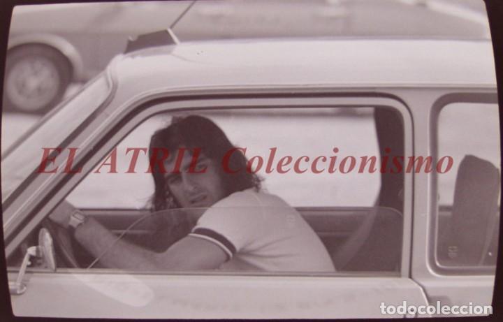 VALENCIA C.F., FUTBOL CIUDAD DEPORTIVA PATERNA - CLICHE NEGATIVO 35 MM CELULOIDE AÑO 1979 KEMPES (Coleccionismo Deportivo - Postales de Deportes - Fútbol)