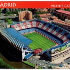 Coleccionismo deportivo: MADRID ESTADIO VICENTE CALDERON POSTAL S/C. Lote 213958402