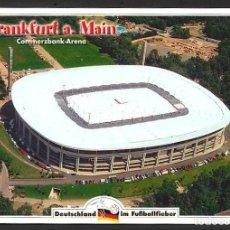 Coleccionismo deportivo: ALEMANIA FRANCFORT COMMERZBANK ARENA ESTADIO FUTBOL POSTAL 17 X 12 CM NO CIRCULADA. Lote 213958668