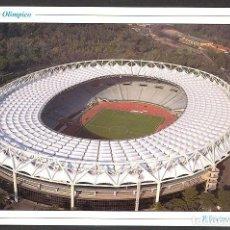 Coleccionismo deportivo: ITALIA ROMA ESTADIO OLIMPICO FUTBOL POSTAL 16,5 X 11,5 CM NO CIRCULADA. Lote 213958740