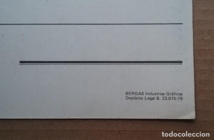 Coleccionismo deportivo: FÚTBOL ESPAÑA SELECCION NACIONAL ESPAÑOLA POSTAL 1979 PARTIDO RUMANIA - Foto 5 - 214910743