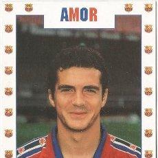 Coleccionismo deportivo: POSTAL DE AMOR JUGADOR DEL F.C. BARCELONA. Lote 214991727