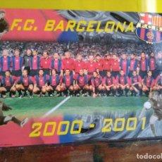 Coleccionismo deportivo: F.C.BARCELONA POSTA 2000-2001. Lote 215461597