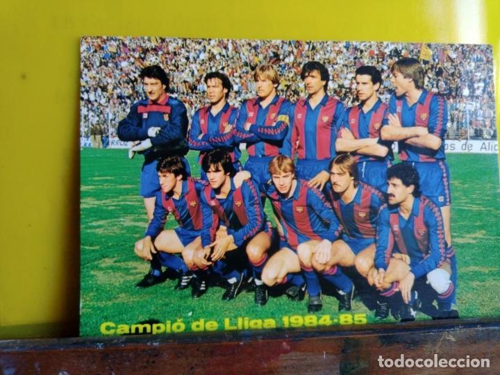 F.C.BARCELONA POSTAL (Coleccionismo Deportivo - Postales de Deportes - Fútbol)