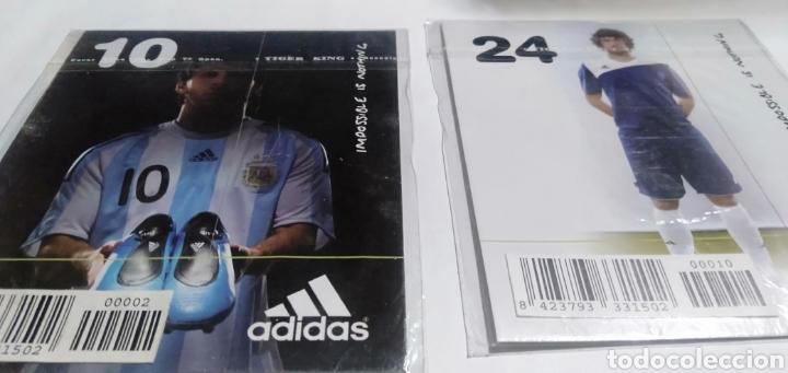 Coleccionismo deportivo: LOTE 22 TARGETAS DE LA COLECCION ADIDAS - Foto 7 - 216382477