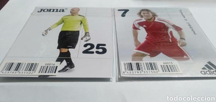 Coleccionismo deportivo: LOTE 22 TARGETAS DE LA COLECCION ADIDAS - Foto 20 - 216382477