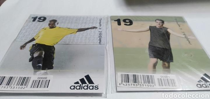 Coleccionismo deportivo: LOTE 22 TARGETAS DE LA COLECCION ADIDAS - Foto 25 - 216382477