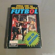Coleccionismo deportivo: JUEGO DE 33 CARTAS SELECCIÓN ESPAÑOLA. Lote 216786341