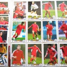 Coleccionismo deportivo: 19 CARD FF BELGIQUE BELGIUM FEDERATION FOOTBALL USA 1994 POSTCARDS POSTKARTE R46. Lote 218021998