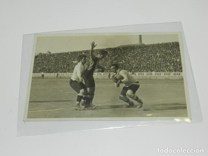 FC BARCELONA - POSTAL FOTOGRAFIA ORIGINAL DE PAULINO ALCANTARA AÑOS 20, FC BARCELONA - CD EUROPA (Coleccionismo Deportivo - Postales de Deportes - Fútbol)