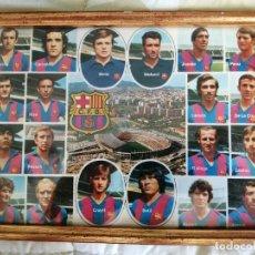 Coleccionismo deportivo: TARJETA POSTAL PLANTILLA C.F. BARCELONA AÑOS 70 -CRUYFF ENTRE ELLOS. Lote 218313793