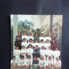 Coleccionismo deportivo: POSTAL EQUIPO FÚTBOL REAL MADRID CAMPEONES DE LIGA 1974-75 CON TRES AUTÓGRAFOS. Lote 218675185