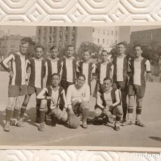 Coleccionismo deportivo: FOTOGRAFIA EQUIPO DE FUTBOL PEÑA BENITO. AÑO 1931.. Lote 218736840