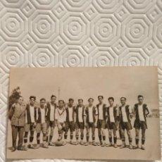 Coleccionismo deportivo: POSTAL PRIMER EQUIPO DE PEÑA BENITO. FUTBOL. ABRIL. Lote 218737021