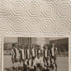 Coleccionismo deportivo: PEÑA BENITO. FUTBOL. FOTOGRAFIA DEL EQUIPO DEL AÑO 1931.. Lote 218737660