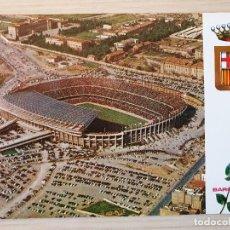 Coleccionismo deportivo: POSTAL FUTBOL - ESTADIO DEL F.C. BARCELONA FINALES AÑOS 60 - ORIGINAL. Lote 220720707