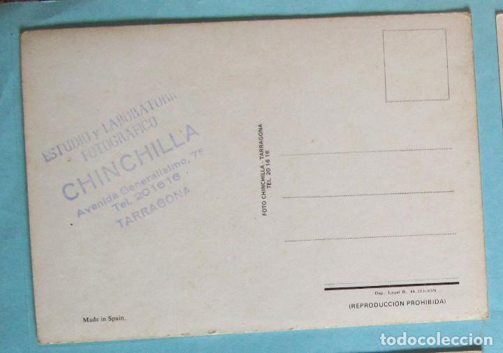 Coleccionismo deportivo: POSTAL GIMNÁSTICO DE TARRAGONA. FOTOGRAFÍA CHINCHILLA, S/F. - Foto 2 - 221255333