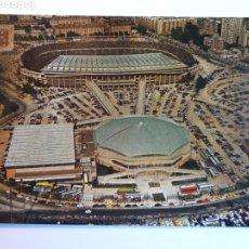 Coleccionismo deportivo: ESTADIO FÚTBOL CLUB BARCELONA. VISTA AÉREA. POSTAL. Lote 221387521