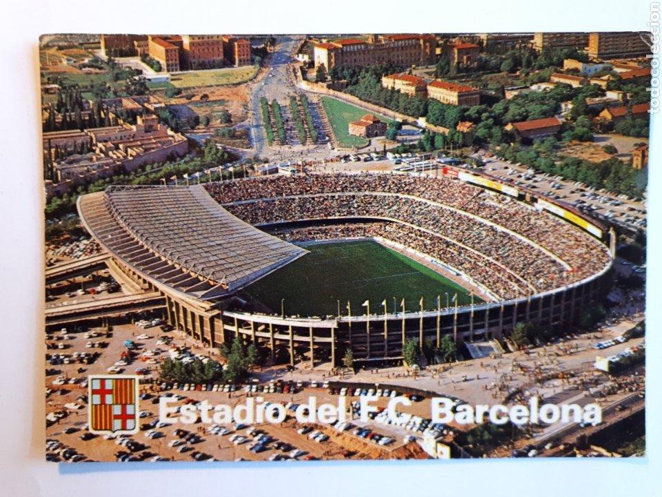 ESTADIO FÚTBOL CLUB BARCELONA. POSTAL (Coleccionismo Deportivo - Postales de Deportes - Fútbol)