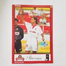 Coleccionismo deportivo: POSTAL / FICHA DE PRIETO (SEVILLA) DIARIO DE SEVILLA 16X24. Lote 221673173