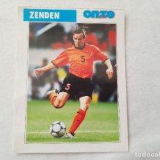Coleccionismo deportivo: POSTAL ZENDEN - PSV EINDHOVEN, FC BARCELONA, HOLANDA (FICHA ONZE MONDIAL). Lote 221677438