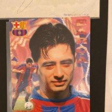 Coleccionismo deportivo: DRAGAN CIRIC POSTAL DEL BARCELONA CON SU AUTOGRAFO. Lote 221736876