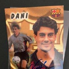 Coleccionismo deportivo: DANI BARCELONA POSTAL CON AUTOGRAFO 1999. Lote 221738372