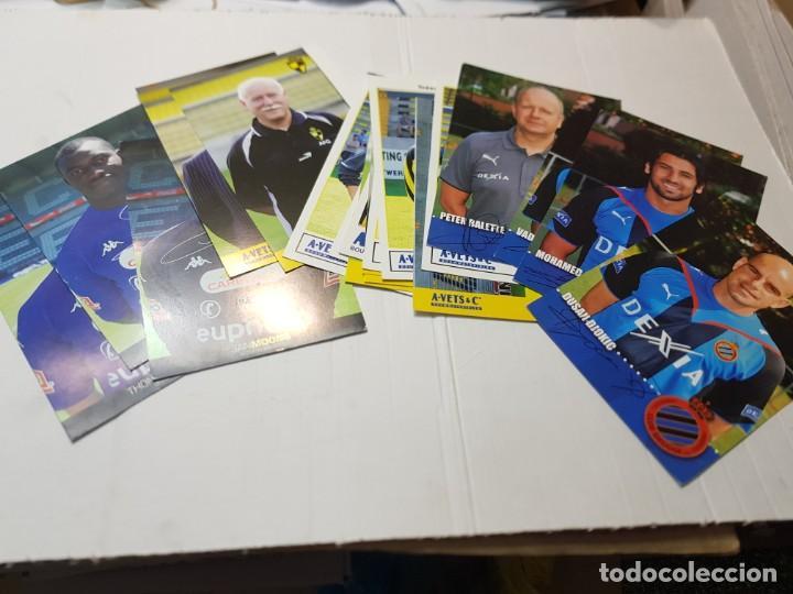 POSTALES DE FUTBOL HAY DE VARIAS TIPOS LOTE 20 (Coleccionismo Deportivo - Postales de Deportes - Fútbol)