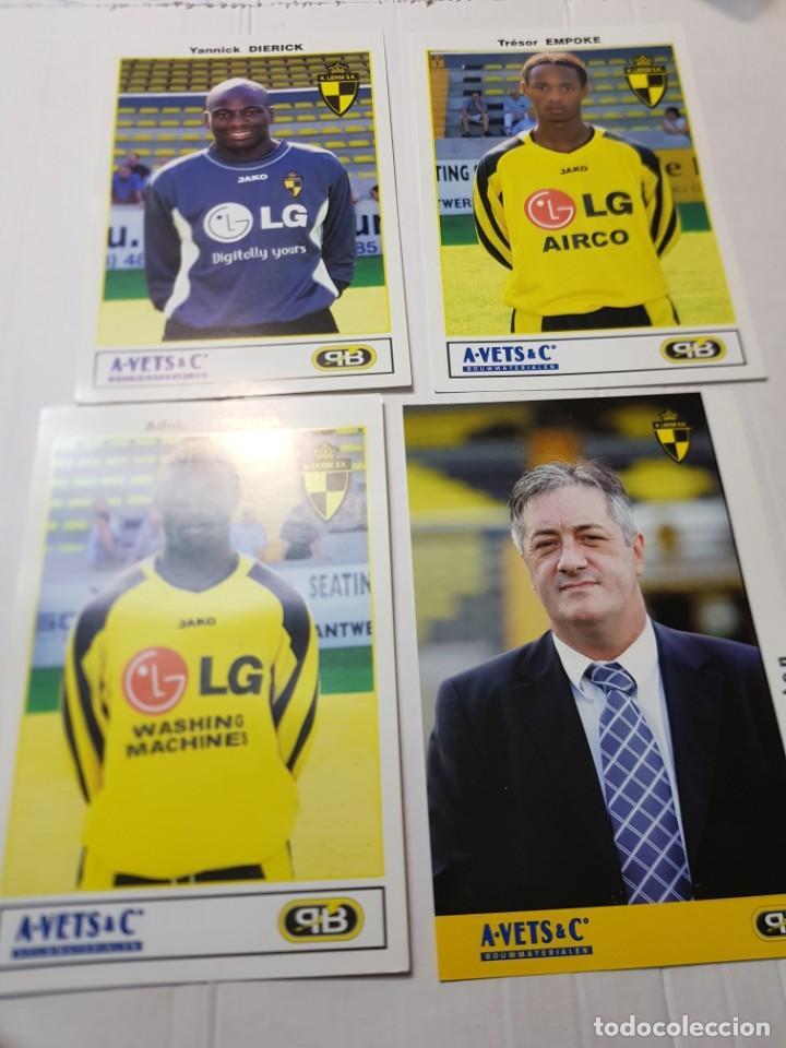 Coleccionismo deportivo: Postales de Futbol hay de varias tipos lote 20 - Foto 3 - 221749198