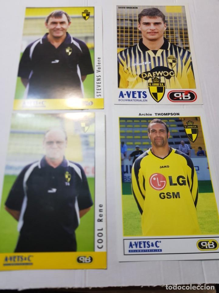 Coleccionismo deportivo: Postales de Futbol hay de varias tipos lote 20 - Foto 4 - 221749198