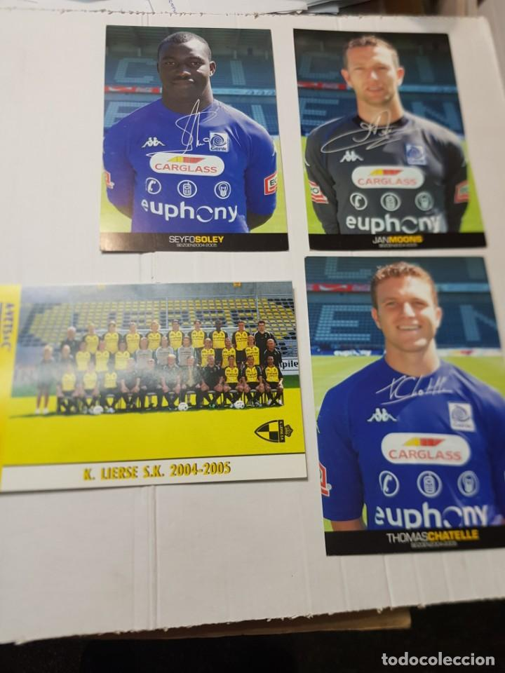 Coleccionismo deportivo: Postales de Futbol hay de varias tipos lote 20 - Foto 6 - 221749198