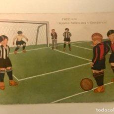 Coleccionismo deportivo: POSTAL FUTBOL CLUB BARCELONA - GIMNÀSTICA FECHADA 1924 - ESCRITA SIN SELLAR. Lote 221791893
