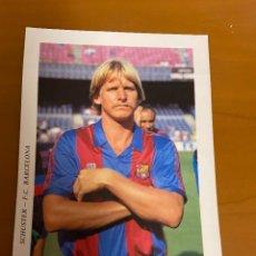 Collezionismo sportivo: SCHUSTER F.C. BARCELONA NUEVA. Lote 222055976