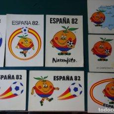 Colecionismo desportivo: 8 POSTALES DE NARANJITO MASCOTA MUNDIAL COPA DEL MUNDO DE FÚTBOL ESPAÑA 82 1982. 1219. Lote 222076348