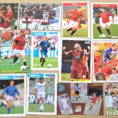 Coleccionismo deportivo: LOTE 26 UNIDADES AS ROMA FUTBOL POSTAL FOTO FICHA 15X10 VARIOS AÑOS POSTCARD CARTOLINA R14. Lote 222096347