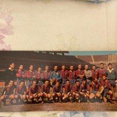 Coleccionismo deportivo: F.C. BARCELONA PLANTILLA D JUGADORES CAMPEON DE LIGA 1958-59 PANORAMICAS DE ESPAÑA 25X10 NUEVA. Lote 222098023