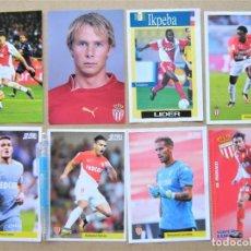 Coleccionismo deportivo: LOTE 29 POSTALE FICHA REVISTA AS MONACO FC FUTBOL POSTAL FOTO 15X10 POSTCARD CARD R28. Lote 222098432