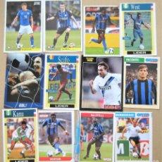Coleccionismo deportivo: LOTE 44 UNIDADES INTER MILAN MILANO CALCIO POSTAL FOTO FICHA VARIOS AÑOS POSTCARD CARD R34. Lote 222099270