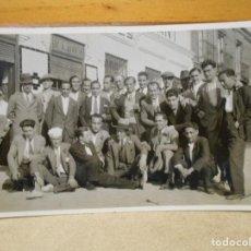 Coleccionismo deportivo: PEÑA BENITO. PARTIDO DE VETERANOS CONTRA OTRO EQUIPO EN EL AÑO 1931. FOTOGRAFIA.. Lote 222424400