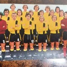 Coleccionismo deportivo: DYNAMO DE DRESDEN AÑO 1974 - FOTO/POSTAL. TAMAÑO 14X9 CM. SIN CIRCULAR.. Lote 222605097