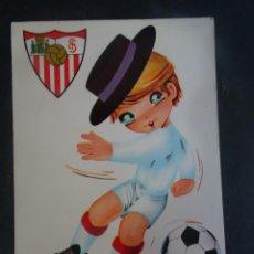 Coleccionismo deportivo: POSTAL ILUSTRACIÓN SEVILLA F.C. ED BV, VER FOTOS. Lote 222814775