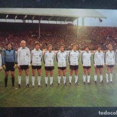 Coleccionismo deportivo: POSTAL DEL EQUIPO DE ALEMANIA, MUNDIAL 1978, VER FOTOS. Lote 222816118