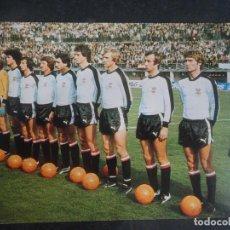 Coleccionismo deportivo: POSTAL DEL EQUIPO DE AUSTRIA, MUNDIAL 1978, VER FOTOS. Lote 222816313