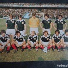 Coleccionismo deportivo: POSTAL DEL EQUIPO DE ESCOCIA, MUNDIAL 1978, VER FOTOS. Lote 222816426