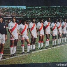 Coleccionismo deportivo: POSTAL DEL EQUIPO DE PERÚ, MUNDIAL 1978, VER FOTOS. Lote 222818398